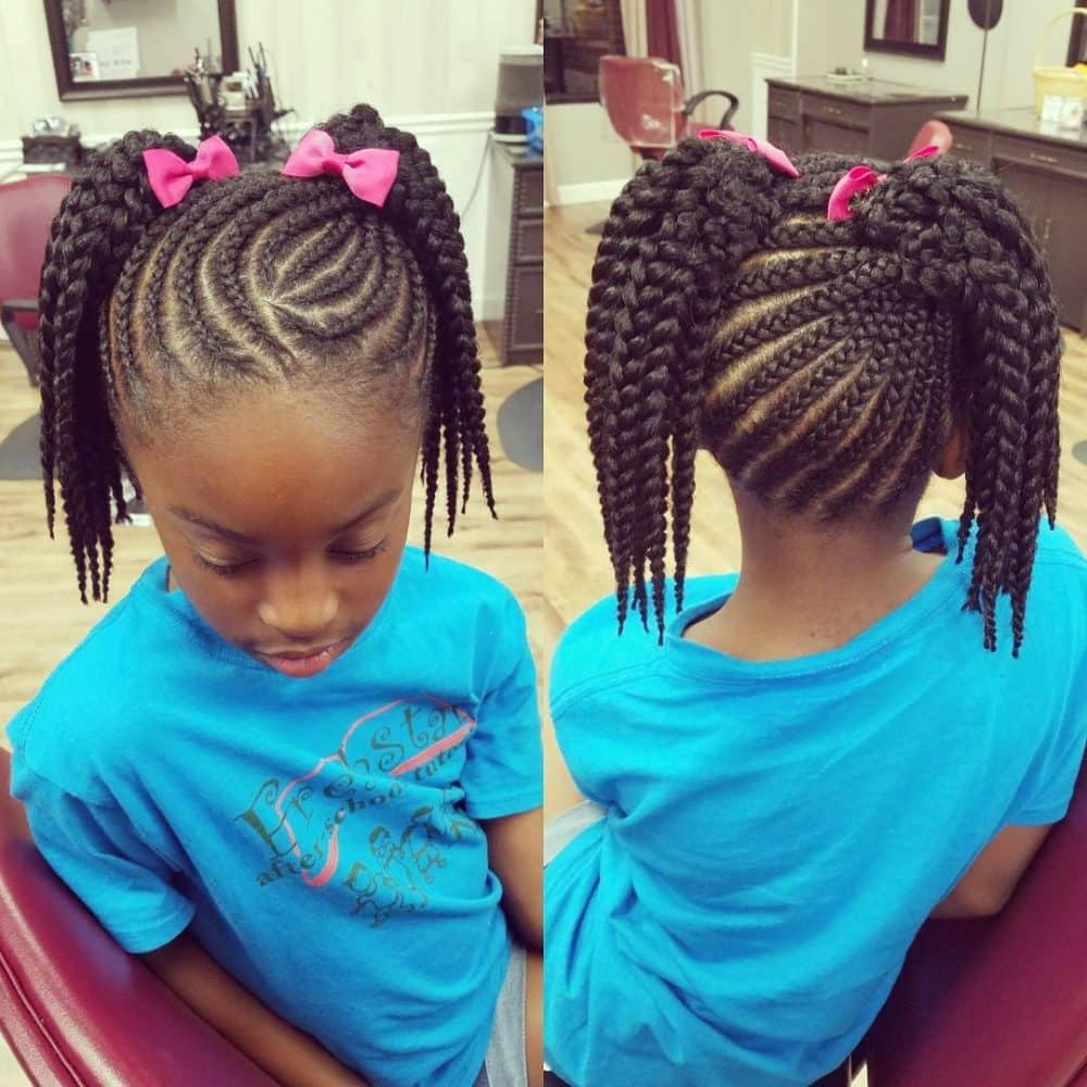 Best 25 Beautiful African Braids for Kids in 2019 YEN.COM.GH