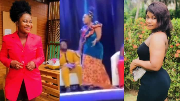 My leg, my waist, I can't walk - Ruth of Date Rush fame says in video after viral fall