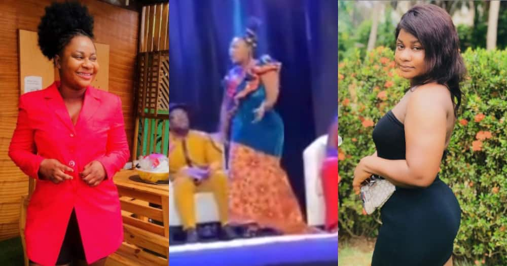 Ruth of Date Rush falls flat on live TV after 'gossiping' about a guy; video drops