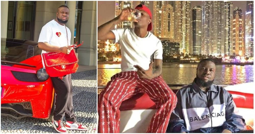 7 Nigerian celebrities who wined and dined with Hushpuppi (photos)