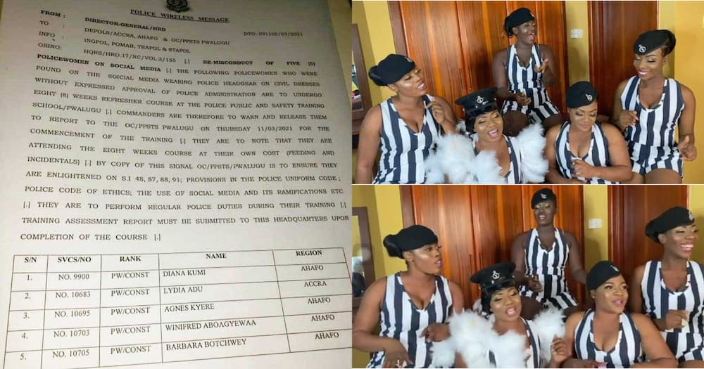 Police service punish police bride and colleagues in viral 'jama' wedding video