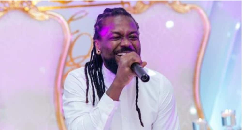 Samini: Photo of Musician's 3-year-old Daughter gets Ghanaians Admiring her