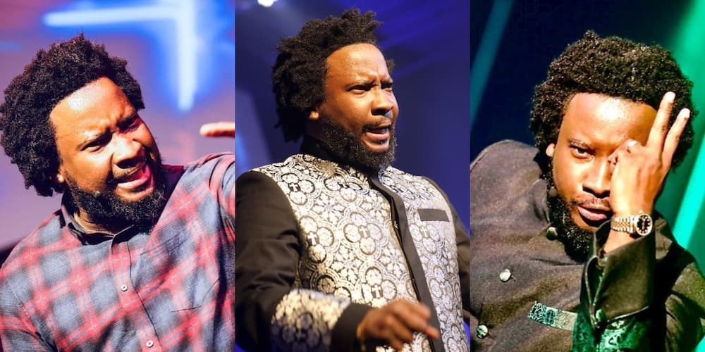 Sonnie Badu's daughter gives him 'girly' hairstyle; video erupts laughter online