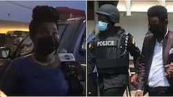 'A gun was found at our home after police search' - Jesus Ahoufe's wife reveals