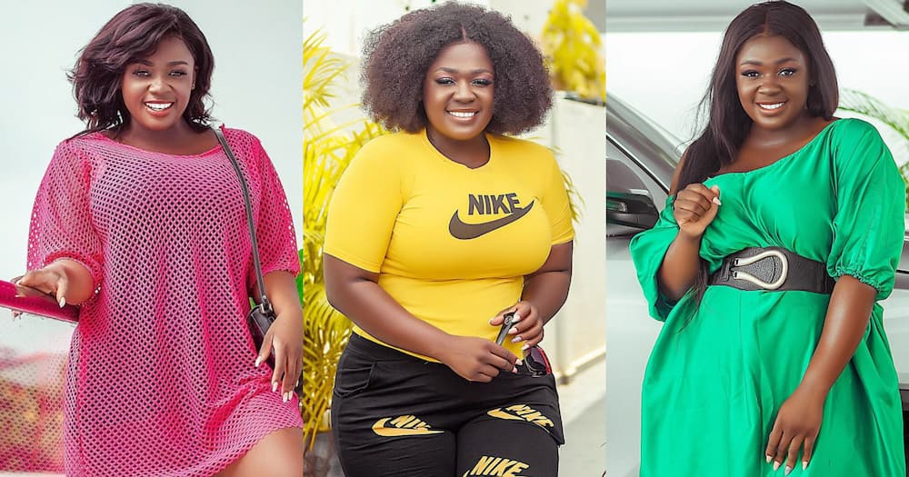 Tracey Boakye: Actress Dances and Praises God in Video over A-Plus' Marriage Issue