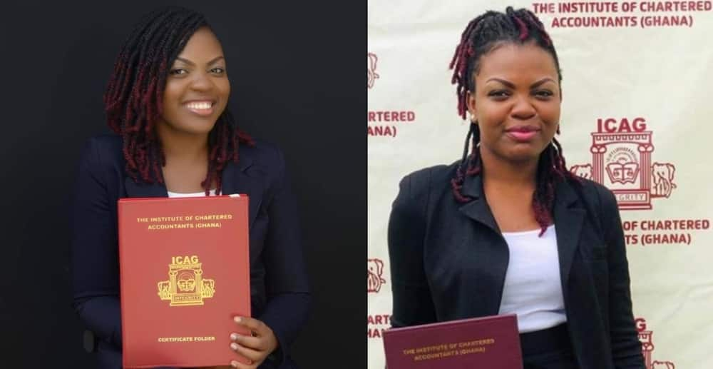 Priscilla Mayor: Brilliant Ghanaian lady graduates from Institute of Chartered Accountants Ghana