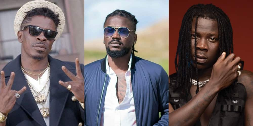 Samini expresses disappointment in Stonebwoy in new video
