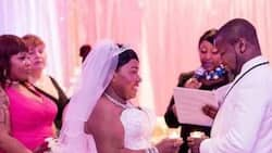 More photos from ex-Black Stars striker's white wedding as he remarries 5 years after divorce
