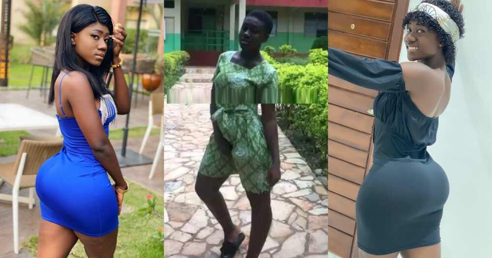 Hajia Bintu: Tik Tok star's SHS throwback photos pop up