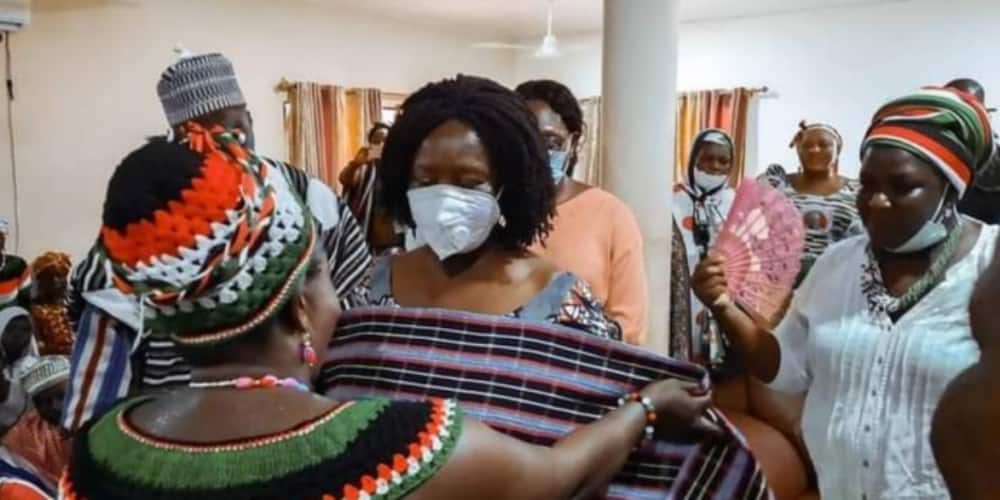 Prof. Opoku-Agyemang enskinned Queen of development in Samini Traditional Area