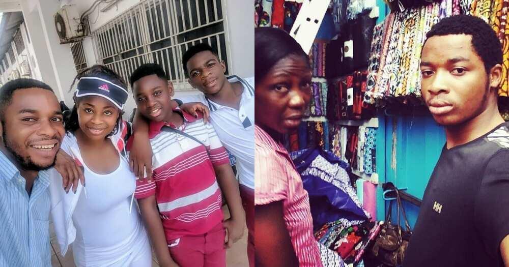 Photos Twene Jonas' Family In Ghana Pop Up Amid Otumfuo Saga