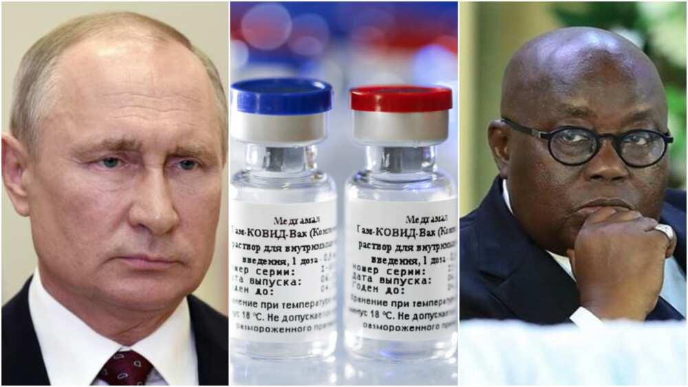 Ghana approves Russia's Sputnik V Covid-19 vaccine for emergency use