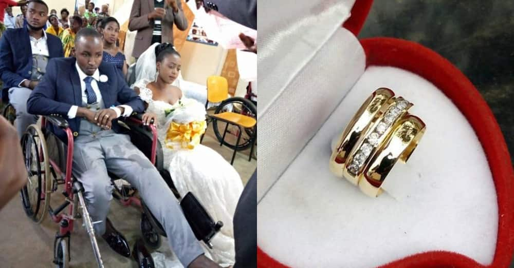 Bride proceeds with wedding after accident cripples groom