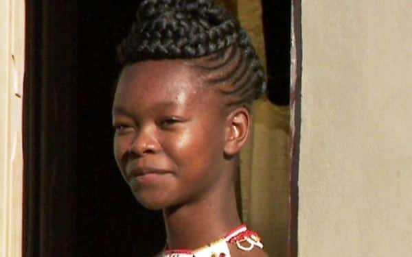 Meet the 16 year old African lady who has gone global with her African designs (Video)