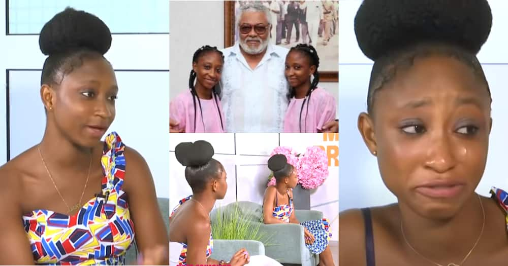 1st conjoined twins separated in Ghana in tears as they express love for Rawlings in video