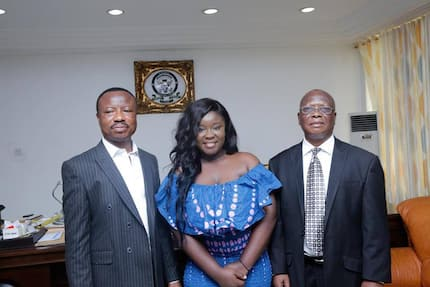 Maame Serwaa gets 4-year degree scholarship at KNUSTFord University