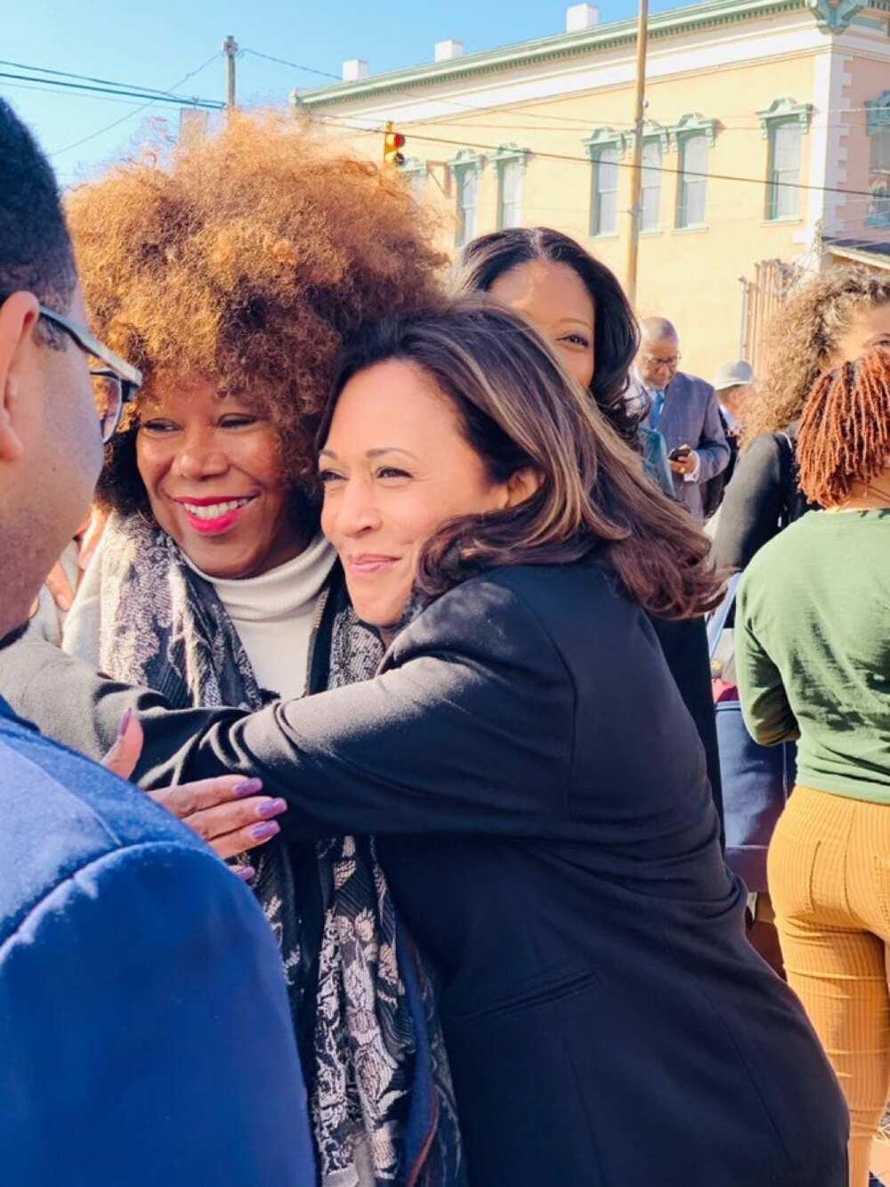 Kamala Harris becomes America's first black female vice president-elect