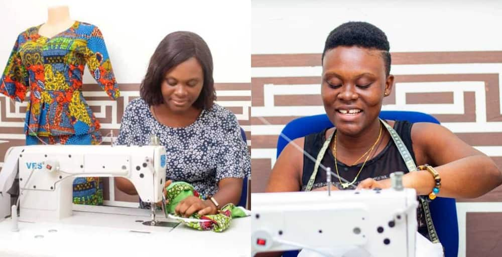 Abigail Gyanwah: Young UCC graduate who decided sewing to avoid unemployment now owns 2 businesses