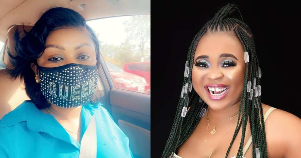 Adu Safowaa Gives Afia Schwar A Heavy Knock On Her Eye; Photo And Details Drop