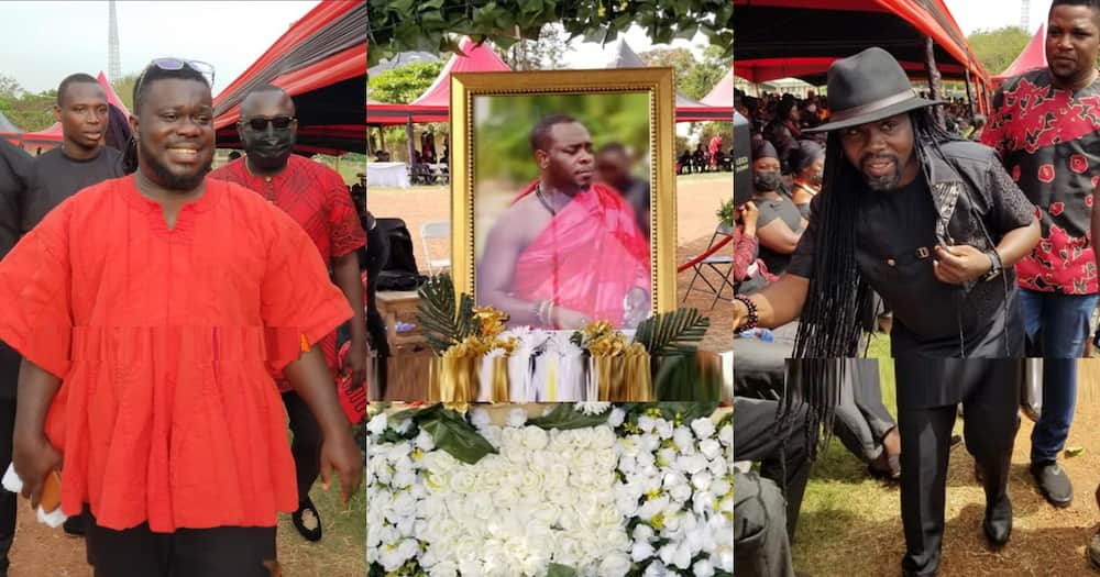Kofi B funeral: Photos and videos of musicians and other stars at Highlife singer's burial