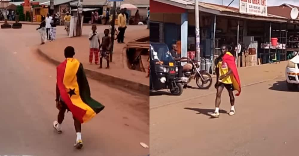 Derrick Lomotey: Ghanaian man completes peace walk from Tamale to Accra in 3 weeks
