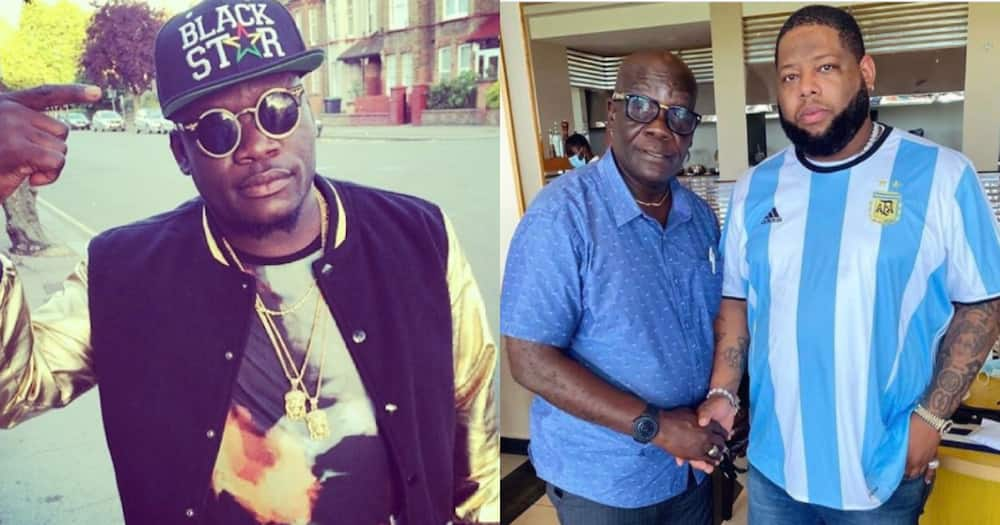 Castro: Photos of Musician's Father Surface Online as he goes on Lunch Date with D-Black