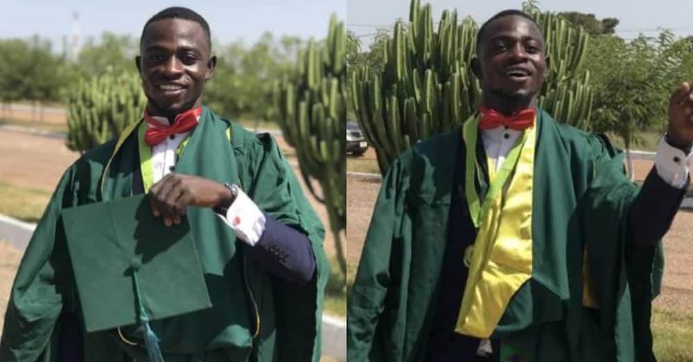 Shadrack Osei Boateng the overall best graduating student at UDS