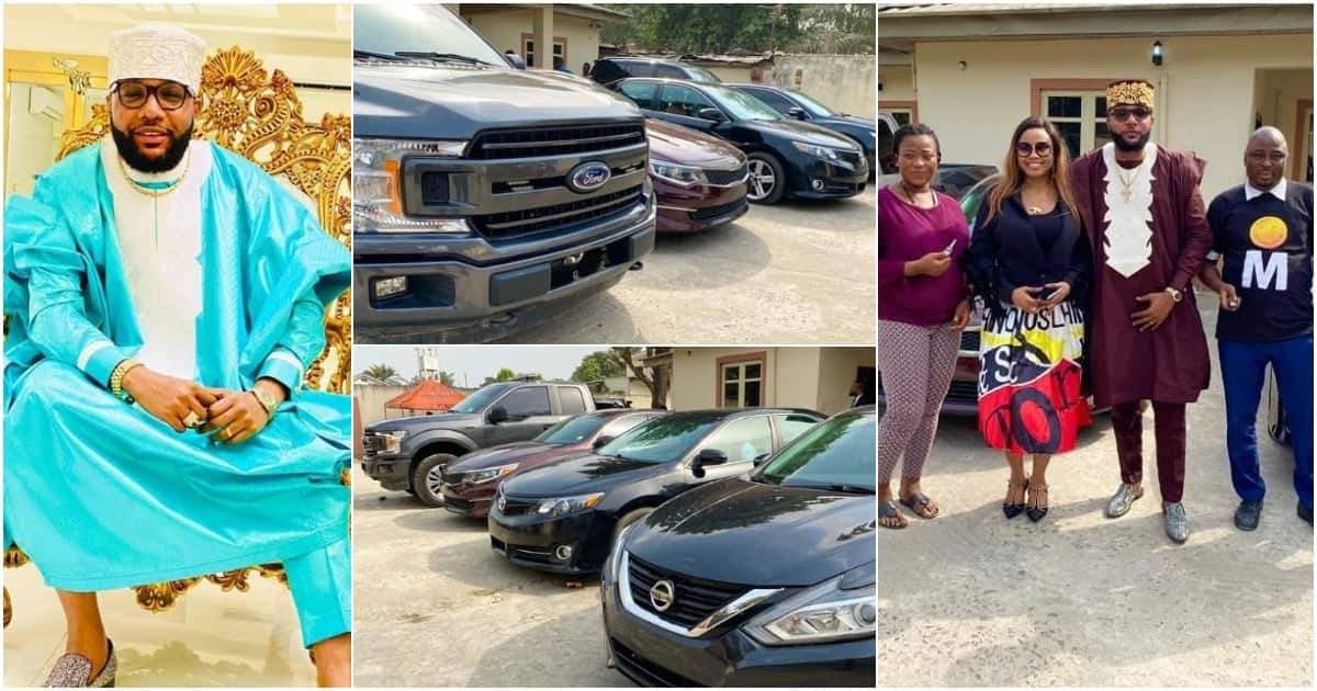 Young millionaire celebrates birthday by gifting his workers luxury cars