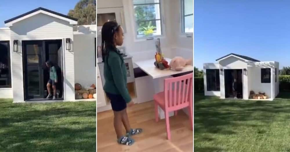 Dad goals: LeBron James builds tiny house for daughter on 6th birthday