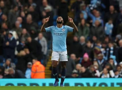 Raheem Sterling wins Premier League player-of-the-month award