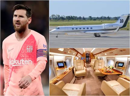 Inside Messi's brand new 16-seater private jet that with kitchen and bathrooms