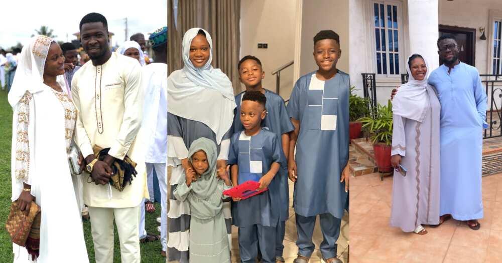 Eid-Ul-Adha - Beautiful photos of Ghanaian Muslim footballers celebrate Eid pops up