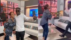 Stonebwoy: French Ambassador to Ghana Anne Sophie Ave dances to 'Sobolo' by music star in video