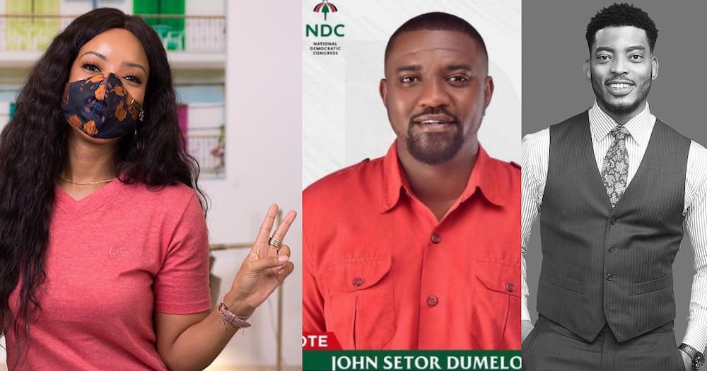 James Gardener and 3 other celebs supports Dumelo after Kalybos and co rejected him