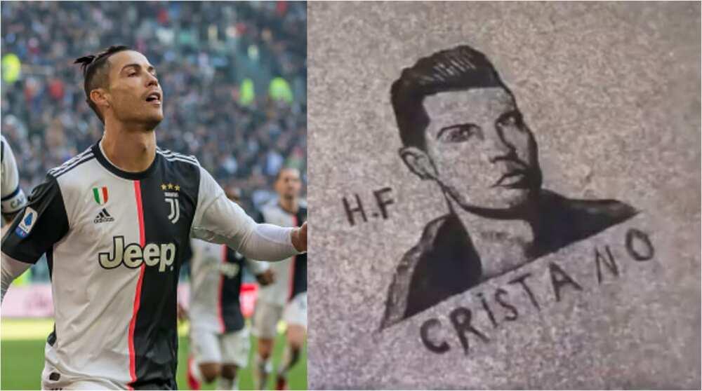 Cristiano Ronaldo: Barber creates Portuguese stars' image with hair in his salon