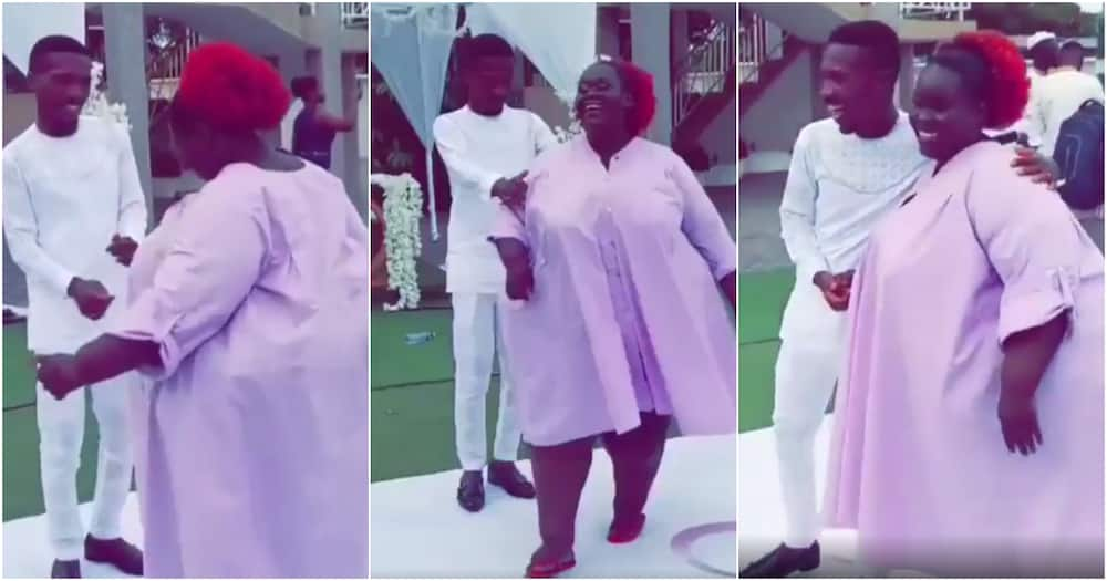 Clemento Suarez marries: Comedian dances with Di Asa's PM at white wedding