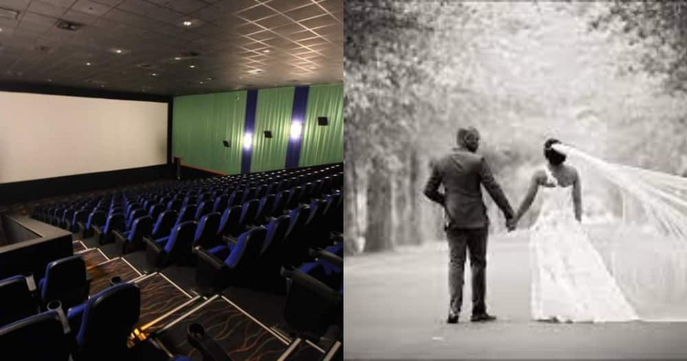 Loving Husband Rents out Movie Theatre to Play Wife Long-Lost Video of Their Wedding