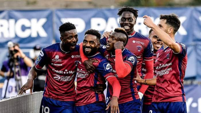 French club Clermont Foot jam to Black Sherif's second sermon after beating champions Lille