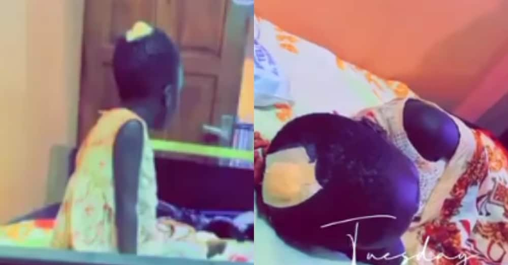 House help butchers her madam's child with knife after everyone left the house