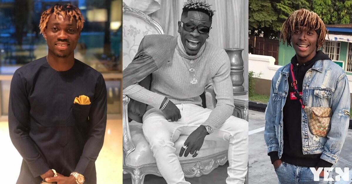 Shatta Wale mocks Christian Atsu; gives him new name after Ghana-Benin game