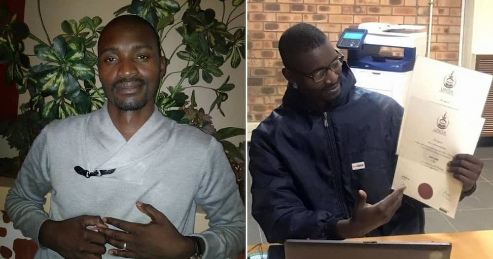 From delivery man and gardener to lawyer, meet Solly Thomas Ngobeni