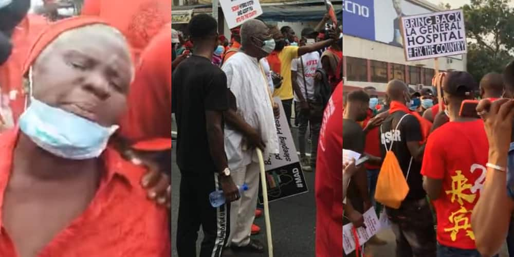 FixTheCountry: Senior citizens join demo as 72-year-old woman cries uncontrollably in video