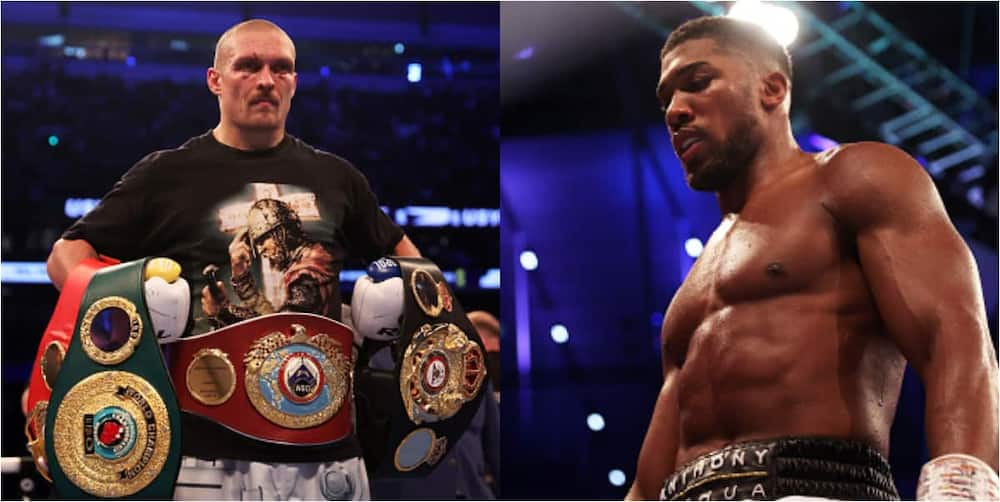 New heavyweight champion Usyk reveals why he refused to knock Anthony Joshua out despite dominant performance