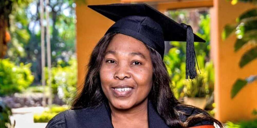 """Thank You Lord"": Lady Dedicates 12 Distinction Graduation Pass to Lovely Grandma"