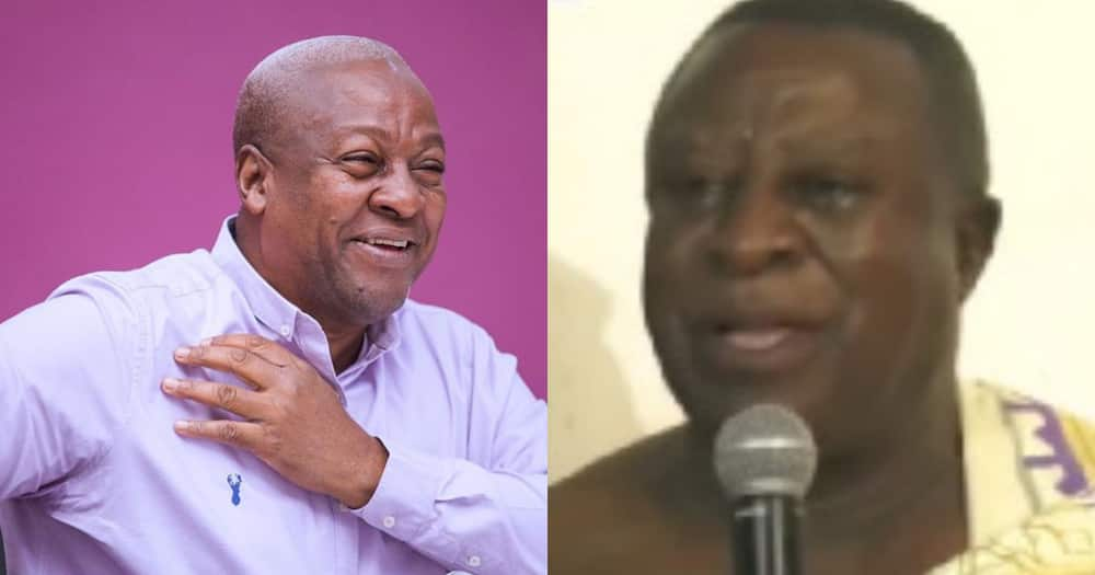 Akwamu Chief predicts victory for Mahama in December 2020 elections