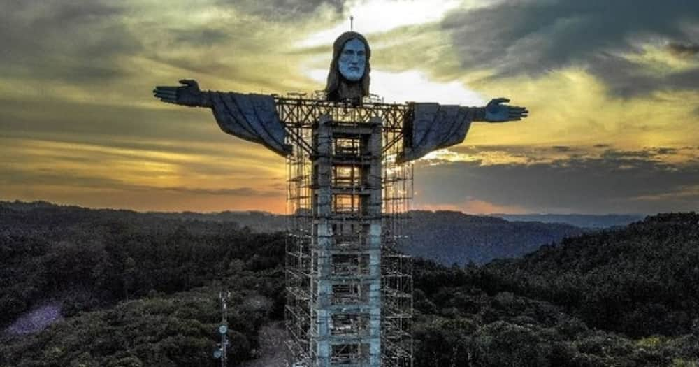 Brazil building another statue of Christ, this one is bigger than the one at Rio