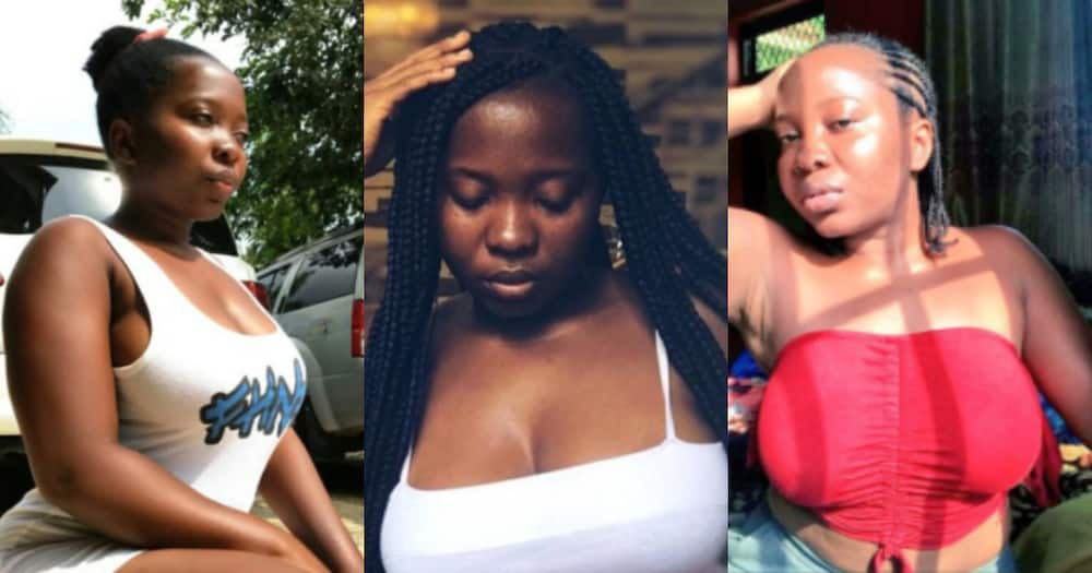 Akua Saucy: Leaked bedroom videos and photos of beautiful Twitter influencer causes stir online