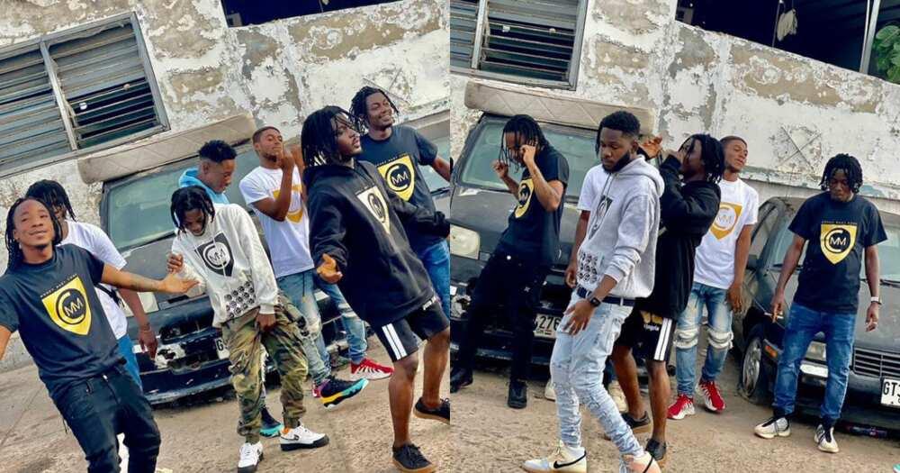 MMC Music Geng: Meet the boys from Ashaiman throwing light on 'Accra drill' music
