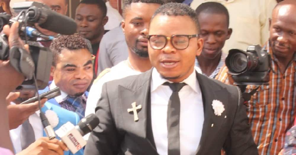 Obinim escapes jail as Kaneshie District Court discharges him in forgery case