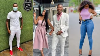 John Paintsil's wife celebrates his birthday with romantic video and sweet words; Ghanaians emotional